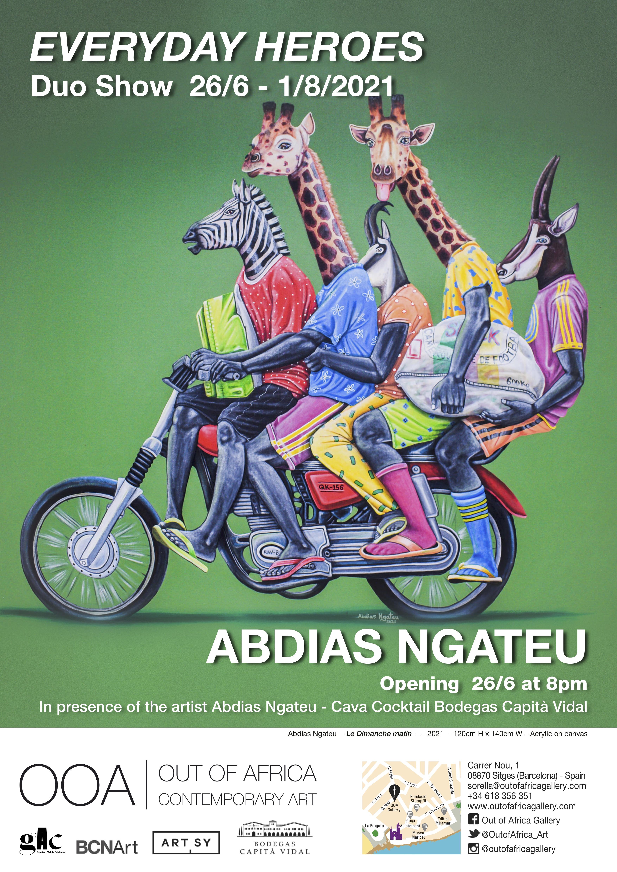 Poster Everyday Heroes - Abdias Ngateu