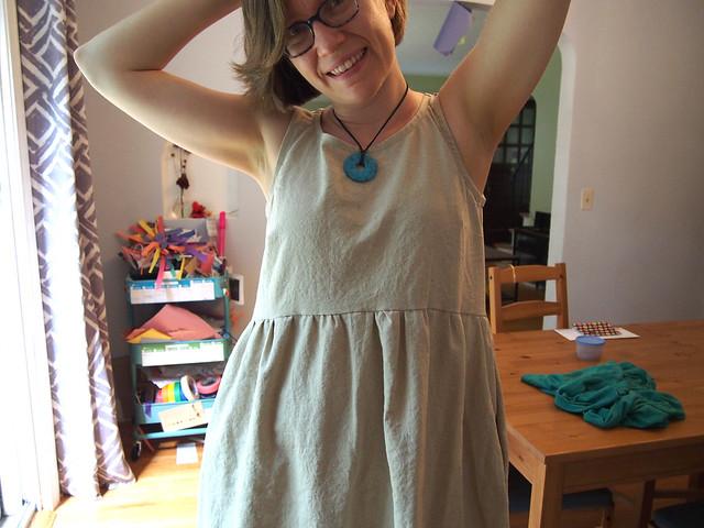 I made a dress!