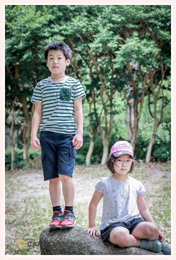 小学校3年生の男の子と女の子 微妙な距離感(笑)