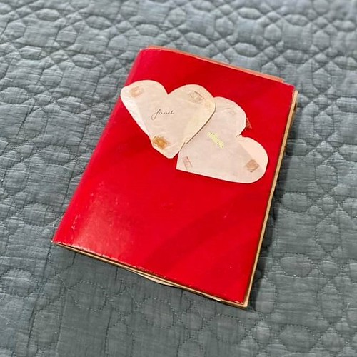 our scrapbook of old love notes