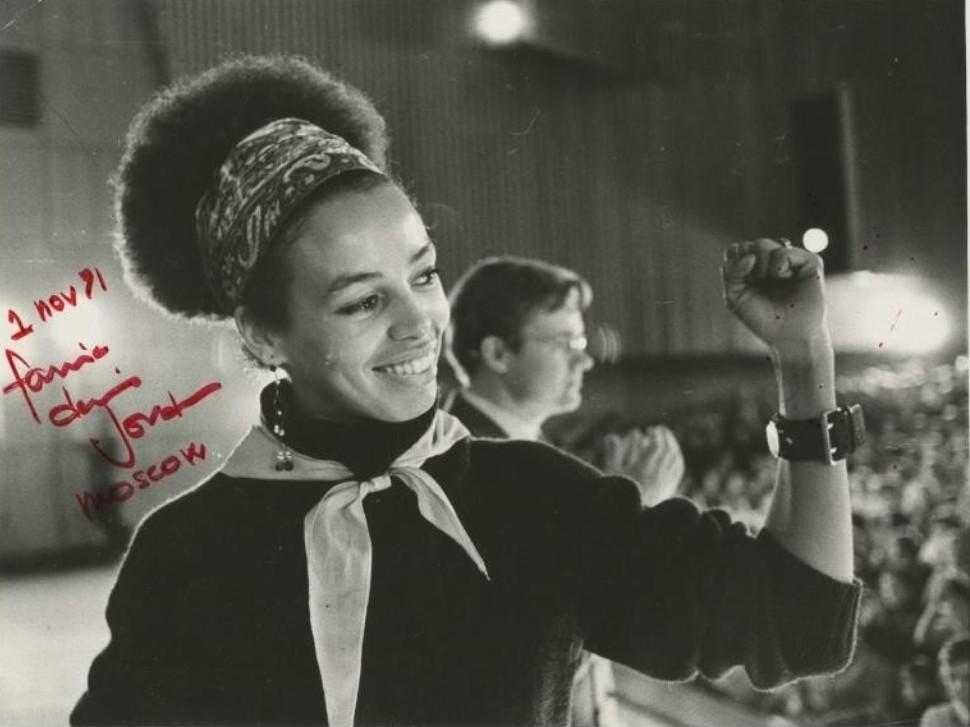 1971. Анджела Дэвис в «Известиях», 1 ноября