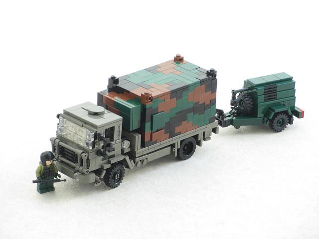 Royal Netherlands Army DAF YAS 4442