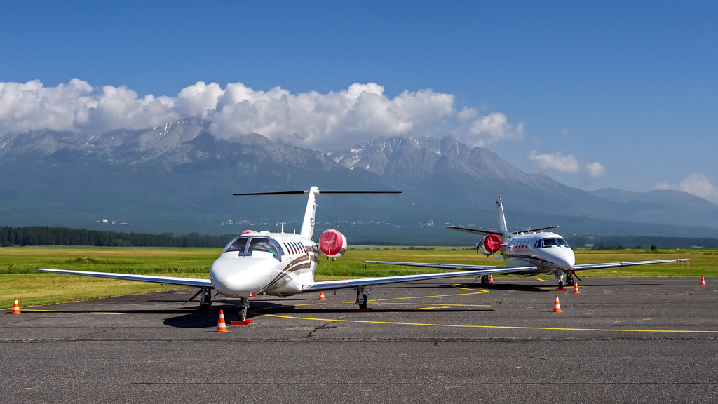 Cessna 525A CitationJet CJ2+ OE-FLA