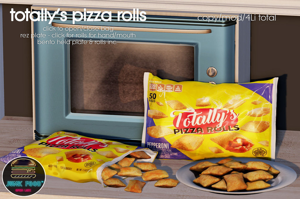Junk Food – Totally's Pizza Rolls Ad