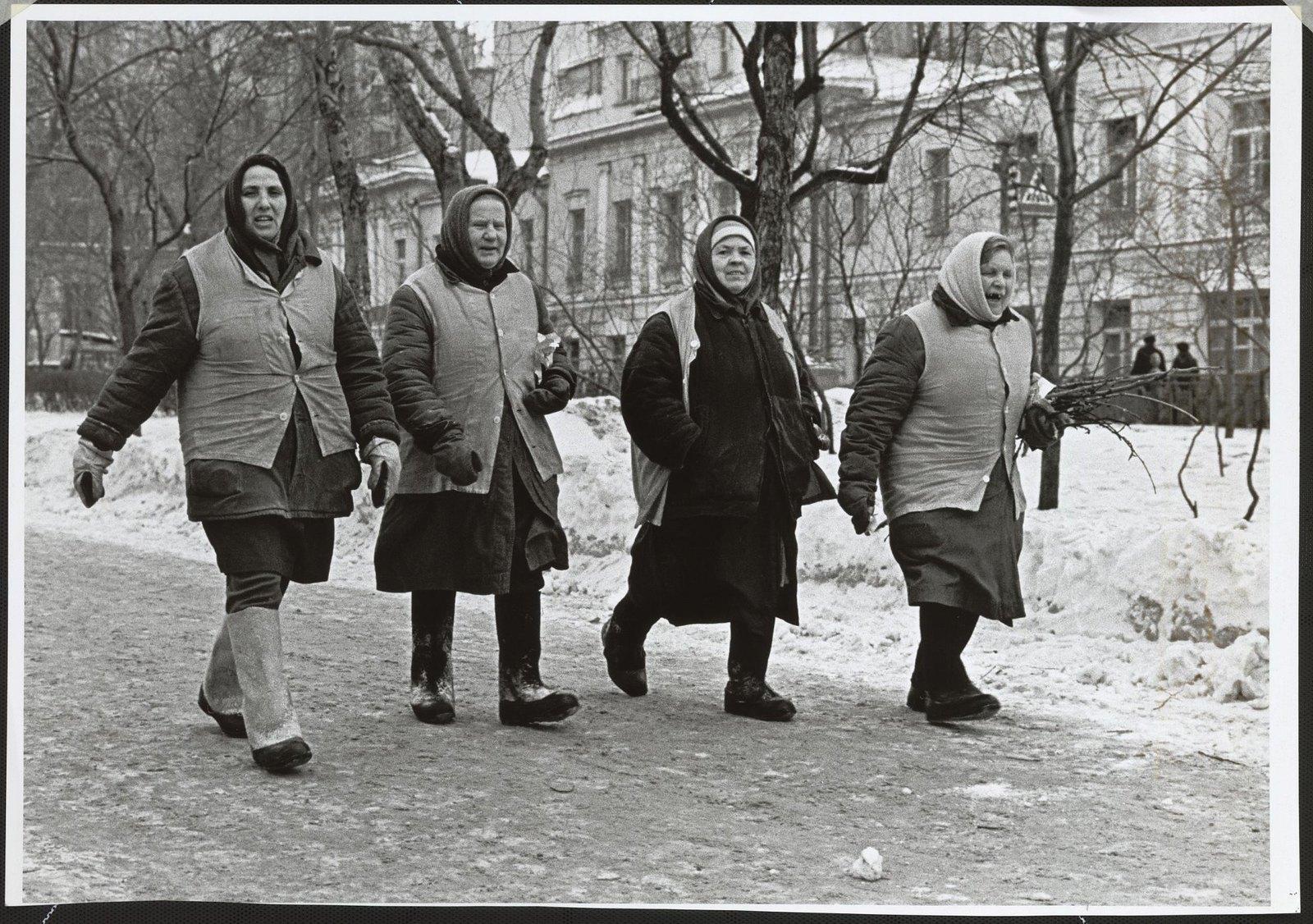 1970. Дворники