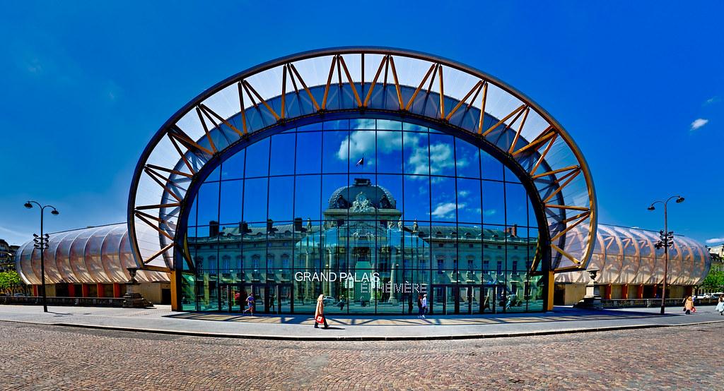Grand Palais éphémère et École Militaire