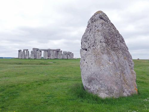 Stonehenge from the Heelstone