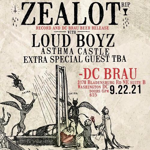 Zealot R.I.P. at DC Brau