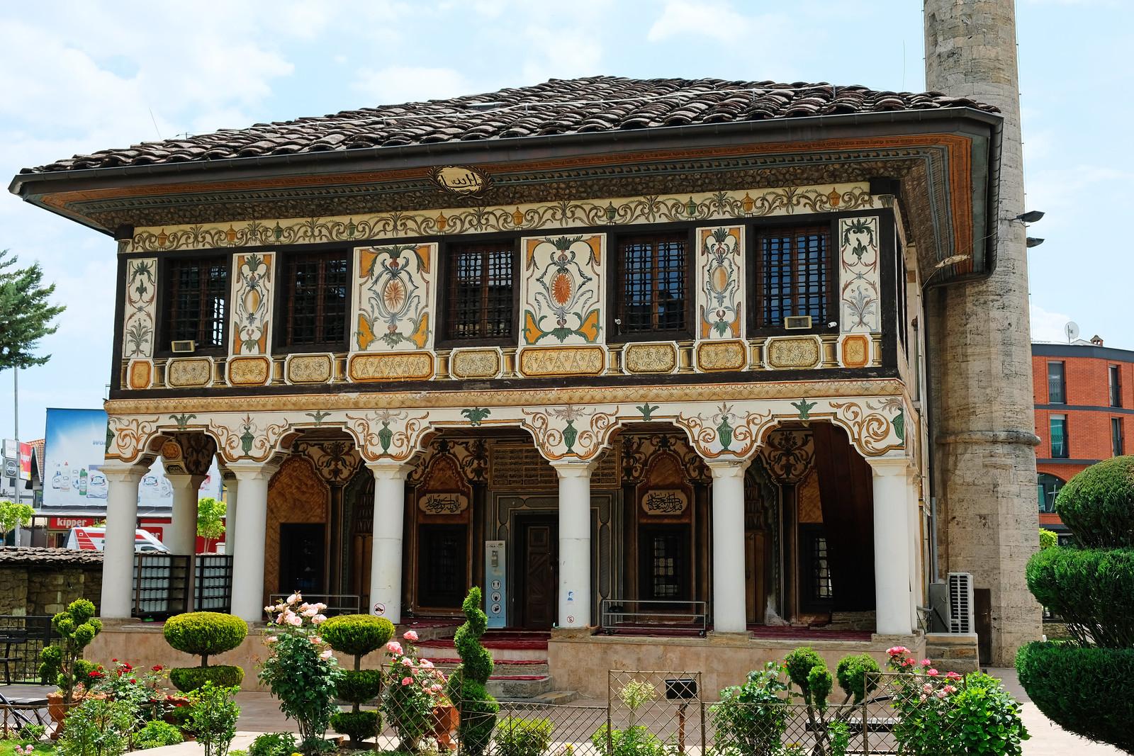 Painted Mosque, Tetovo, North Macedonia