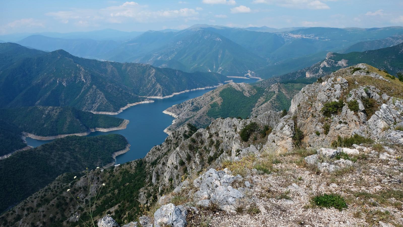 Kozjak Lake Observation Point, Jasen Nature Reserve, North Macedonia