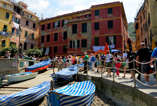 The Boats of Vernazza