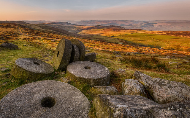 Abandoned Millstones at Stanage Edge