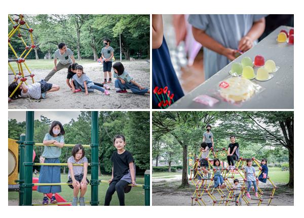 家族写真撮影会 毎年恒例の同級生グループ