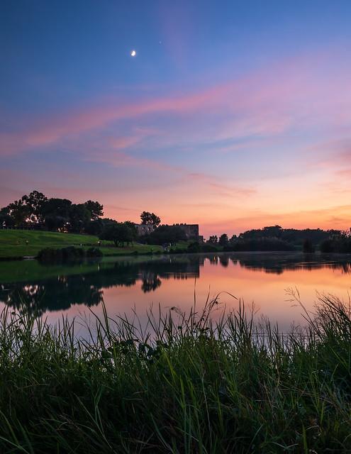 Beautiful evening  blue hour