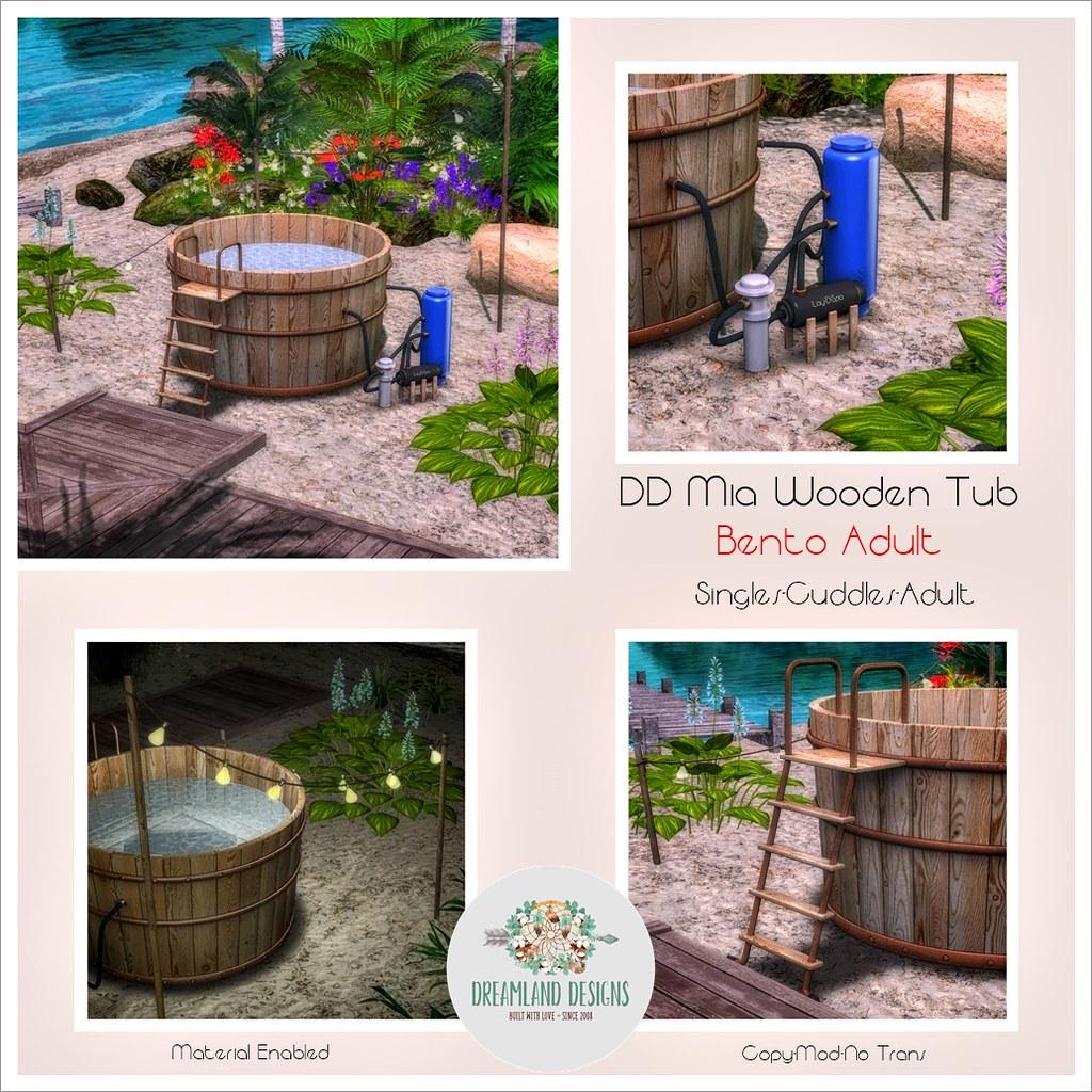 DD Mia Wooden Tub-Adult