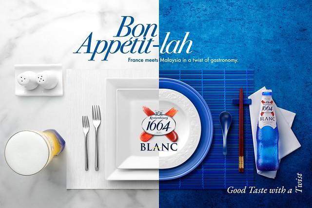 1664 Blanc Marketing Activation Gastronomy KV