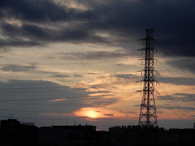 鉄塔のある風景 2021.6.26