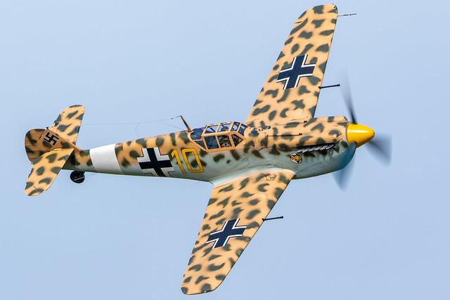 G-AWHK - Hispano HA-1112-M4L Buchon