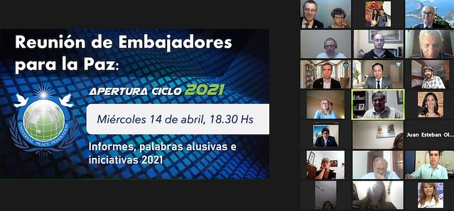 Argentina-2021-04-14-UPF-Argentina's Ambassadors for Peace Open Their 2021 Activities