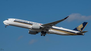 Singapore Airlines Airbus A350-900 (F-WZFL 9V-SJB MSN472) (25/06/2021)