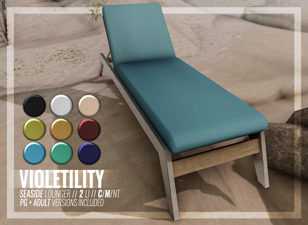 Violetility – Seaside Lounger
