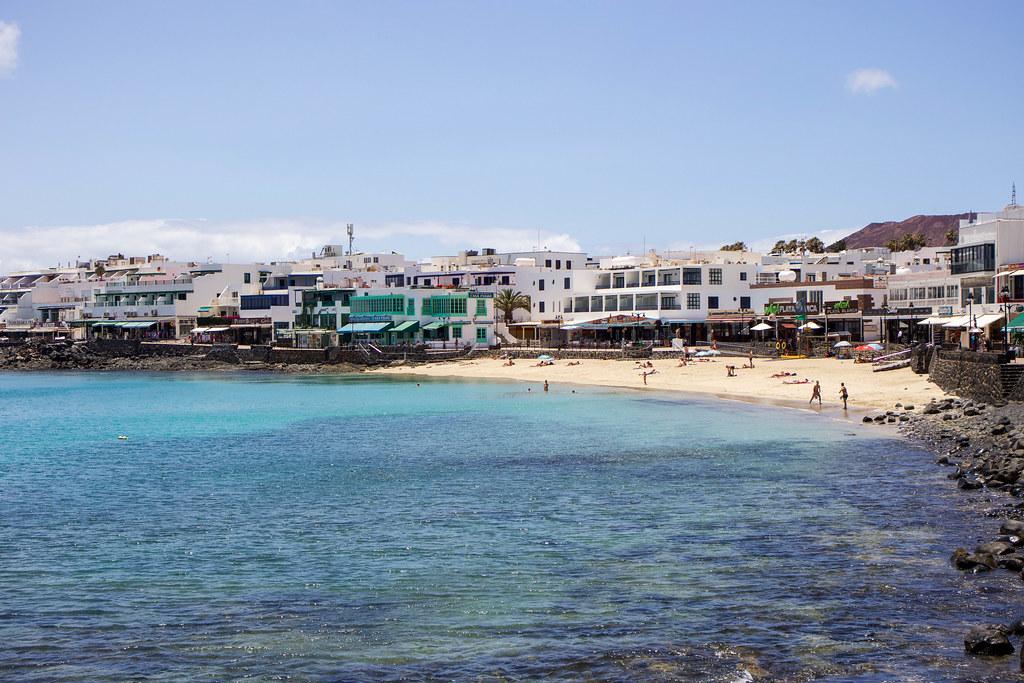 Playa de Playa Blanca en Lanzarote