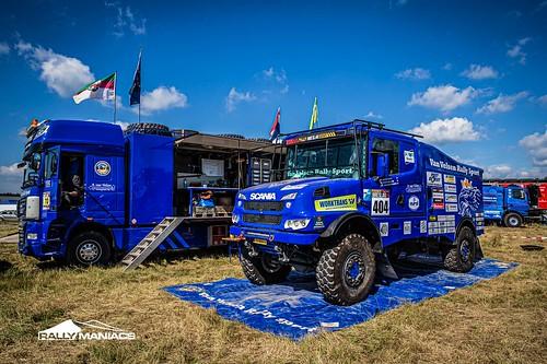 Rallye Breslau 2021 scrutineering part 1