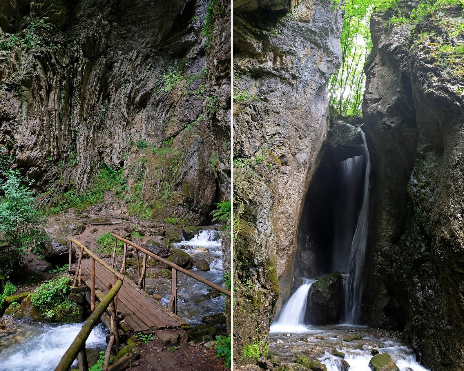 Duf waterfall, North Macedonia