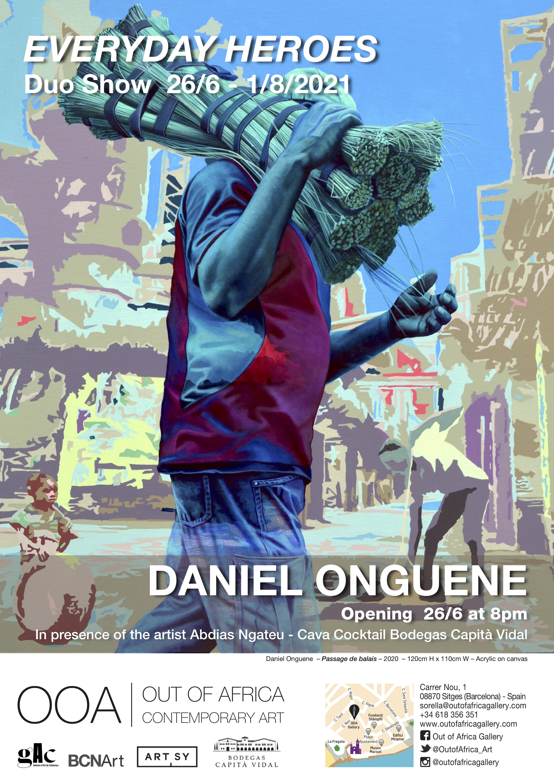 Poster Everyday Heroes - Daniel Onguene