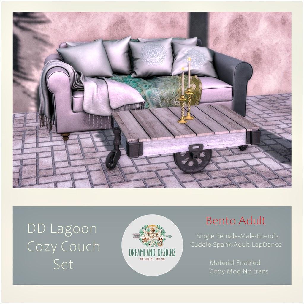 DD Lagoon Cozy Couch-Adult