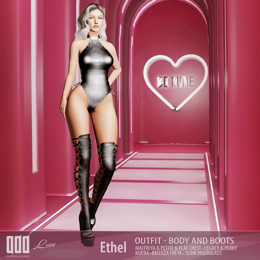 New release – Ethel Outfit  – Body and Boots
