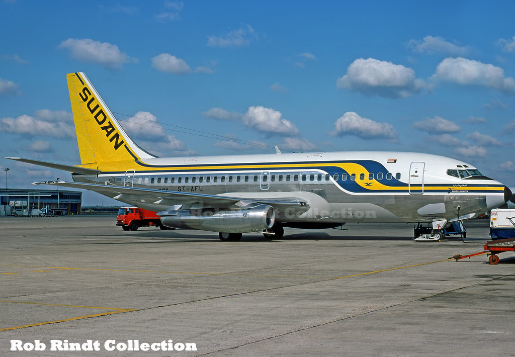 Sudan Airways B737-2J8C ST-AFL