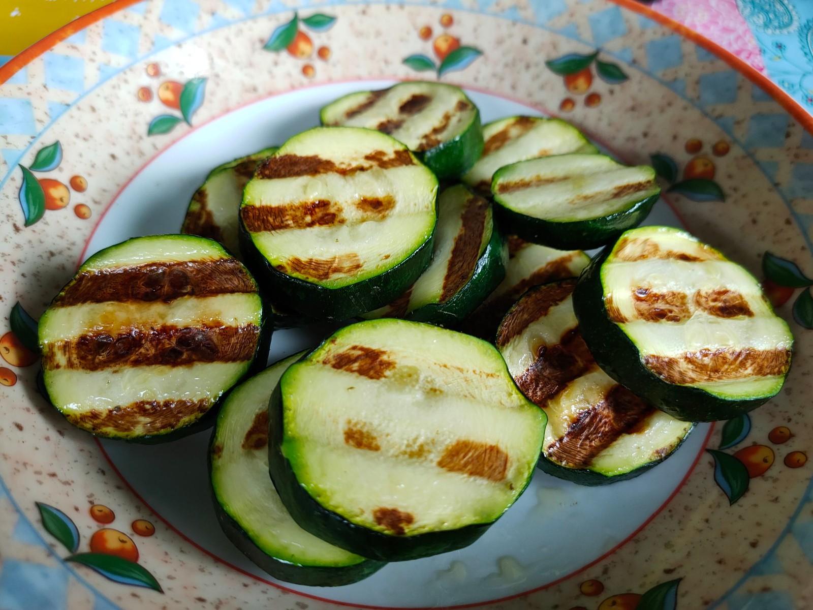 Zucchini - Grillen mit dem Tefal Optigrill Elite XL