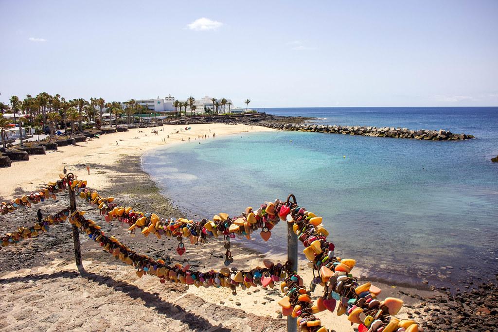 Mirador de Playa Flamingo en Lanzarote