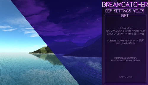 DREAMCATCHER // EEP Settings - VELES / Limited time Gift