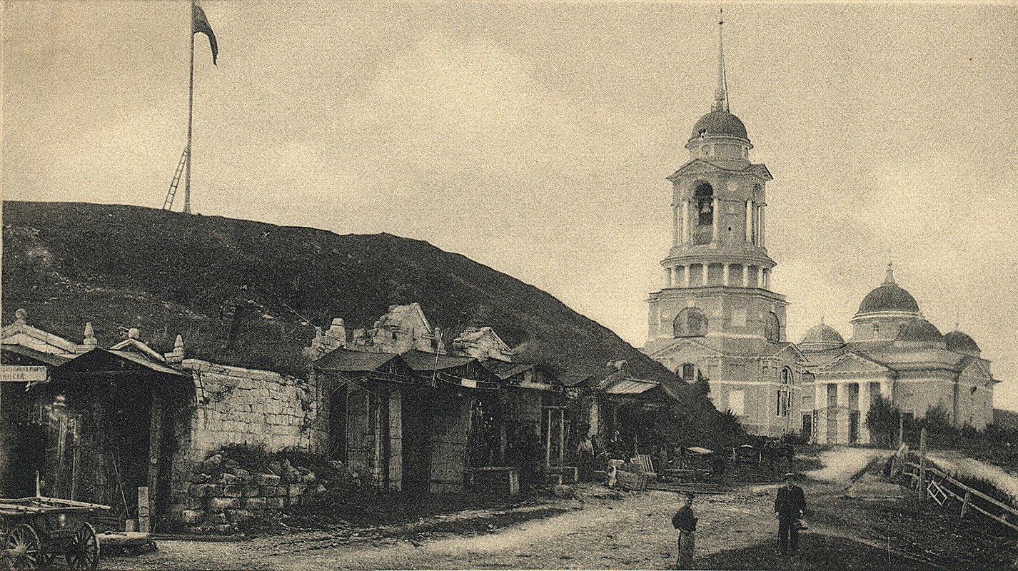 Вид на Борисоглебский собор
