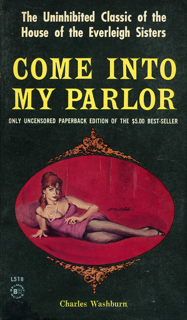 Belmont Books L518 - Charles Washburn - Come into My Parlor