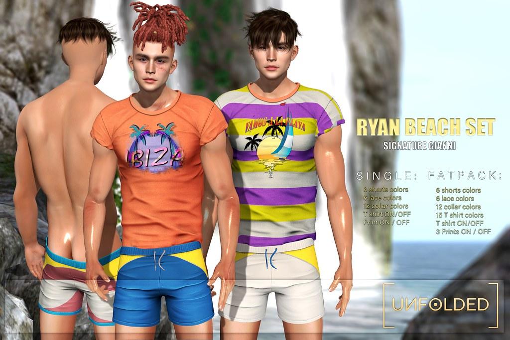 UNFOLDED X Ryan Beach Set ♥