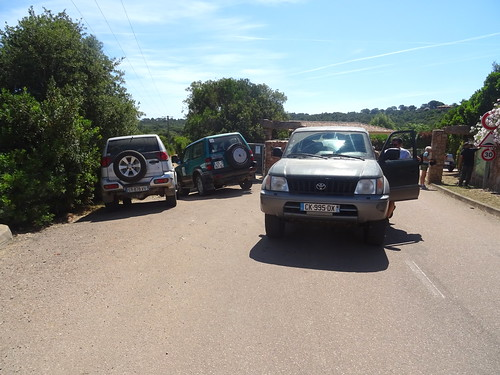 Parking au départ du chemin à Capicciola