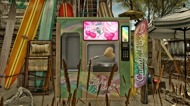 MadPea Cotton Floss Vending Machine