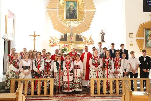 Bierzmowanie w parafii św. Antoniego w Sieniawie 26.06.2021 r.