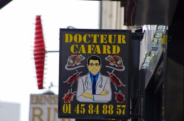 12 - Paris Juin 2021 - Docteur Cafard, rue du Faubourg Saint-Antoine