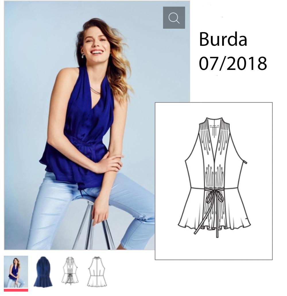 Top Burda 07-2018