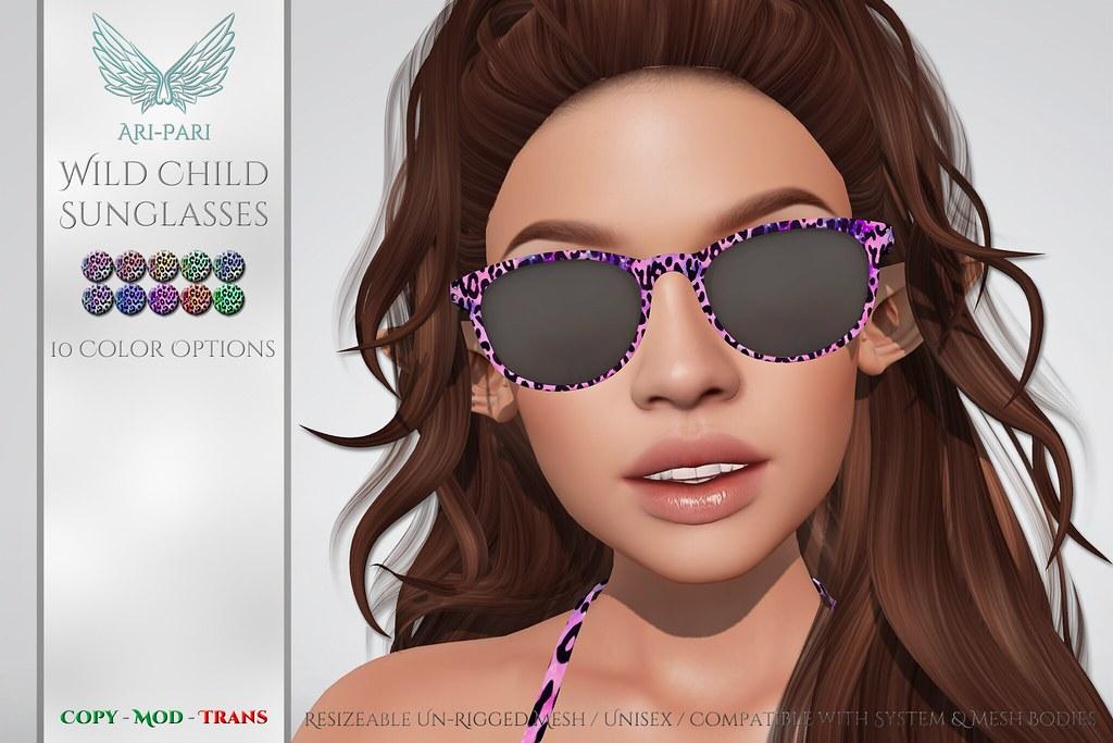 [Ari-Pari] Wild Child Sunglasses