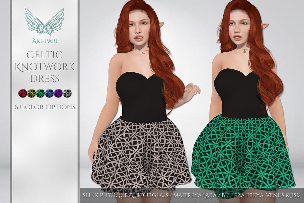 [Ari-Pari] Celtic Knotwork Dress