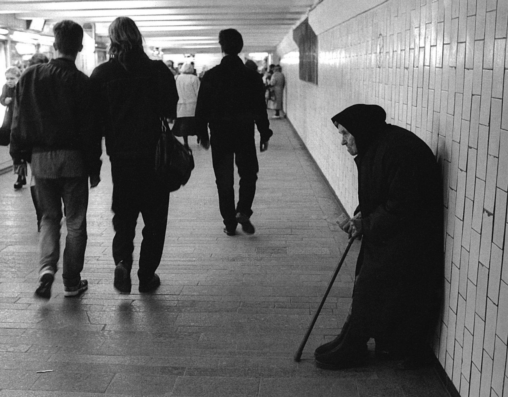 1990-е. Жизнь в Переходе.