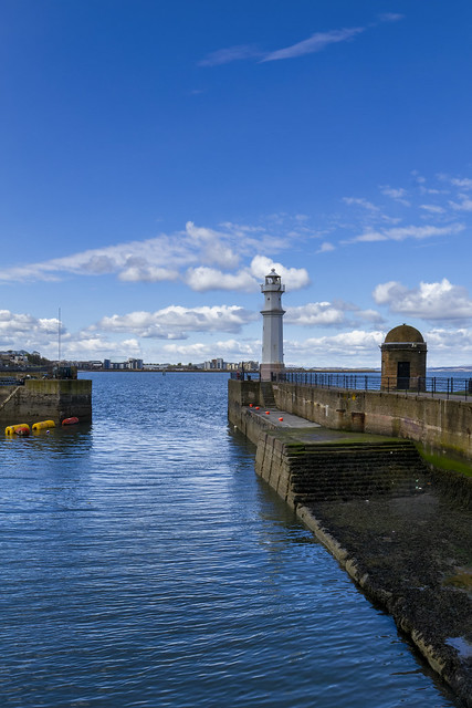 Newhaven Lighthouse, Firth of Forth, Edinburgh