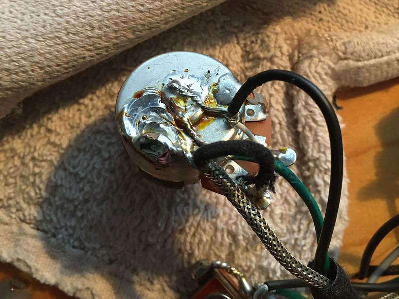 Epiphone Casino - new wiring