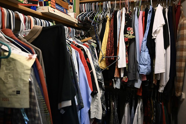 One of These Days I May Get Around to Getting Rid of all the Clothes in this Closet that My Wife and I Don't Wear Anymore
