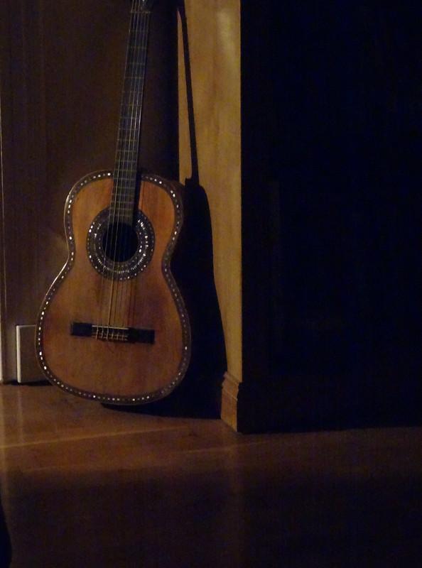Guitar in the corner